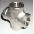 "1/2"" NPT Cross Stainless"