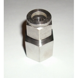 "1/2"" FEMALE NPT x 1/2"" tube compression adapter Stainless"