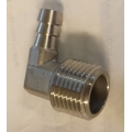 "1/2"" NPT x 3/8 90 DEGREE barb"