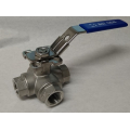 "3 way TYPE L 1/2"" NPT ball valve"