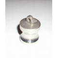 """1/2"""" SS Camlock Dust Plug Style Quick Disconnect"""