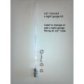 CONVERT  a sight gauge fitting kit