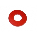 "LARGE RED 1/2"" NPT flat silicone gasket"