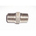 "1/4"" NPT Hex nipple Stainless"