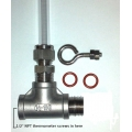 Welded Thermometer sight gauge fitting kit