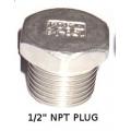 "1/2"" NPT Plug Stainless"