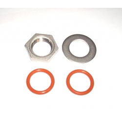 - Weldless thermometer install kit for KEG or kettles